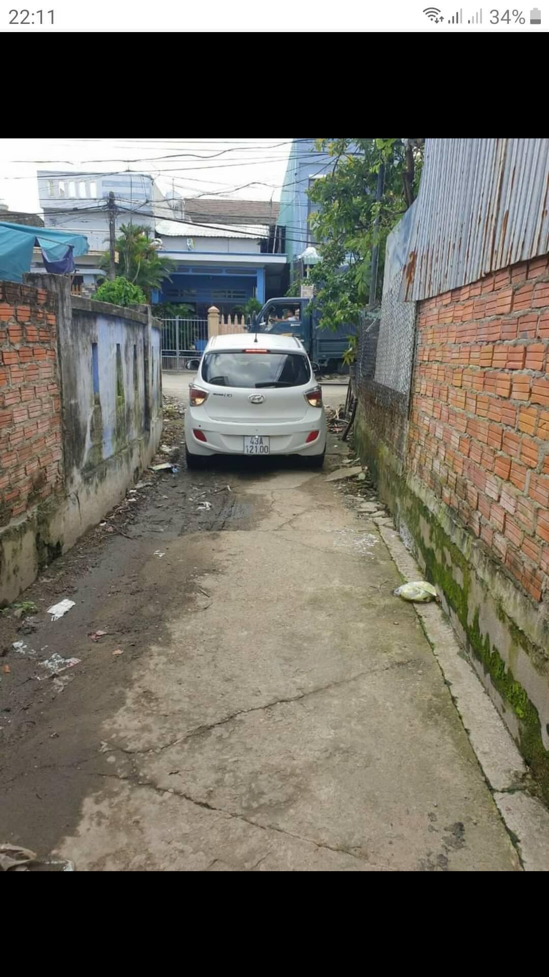 đường đi vào lô đất Hòa Phước - Hòa Vang - Đà Nẵng