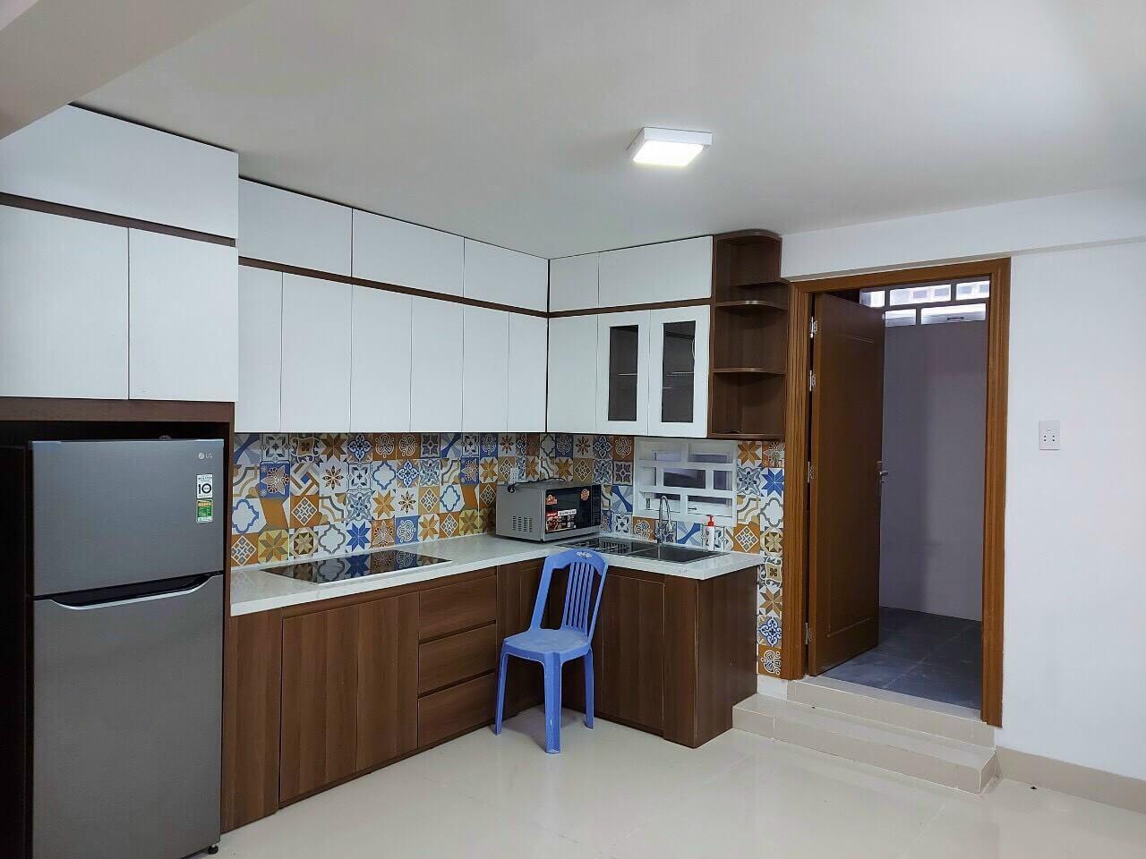 phòng bếp nhà kiệt An Thượng 24