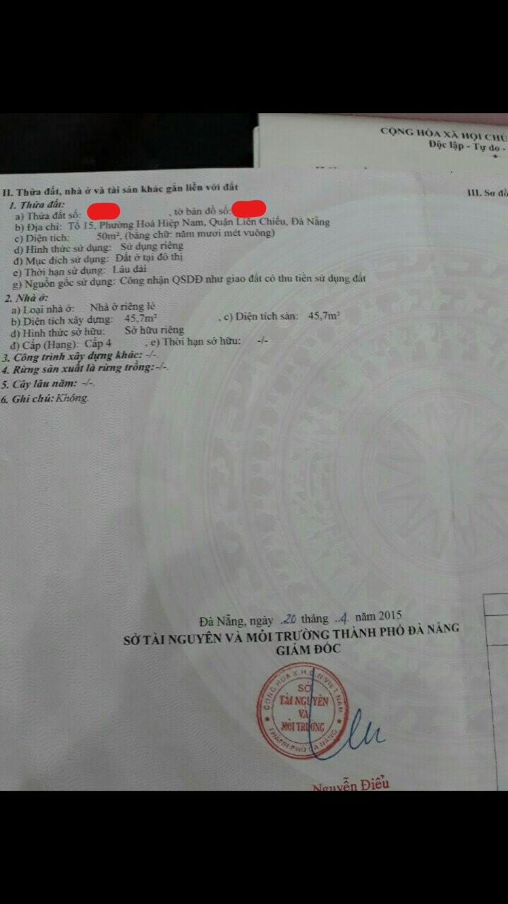Bán Nhà Đường Xuân Thiều 11 – Đà Nẵng | Trần Minh BĐS