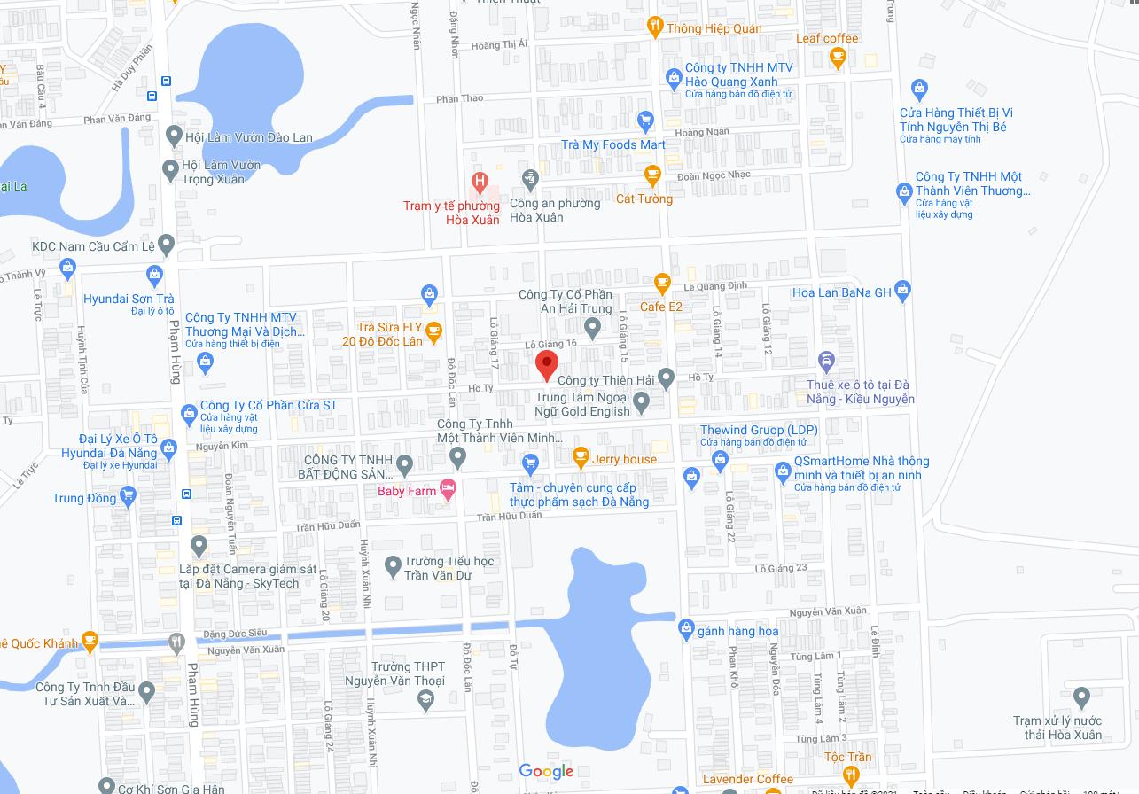 Bán Nhà Đường Hồ Tỵ – Nam Cẩm Lệ – Đà Nẵng | Trần Minh BĐS