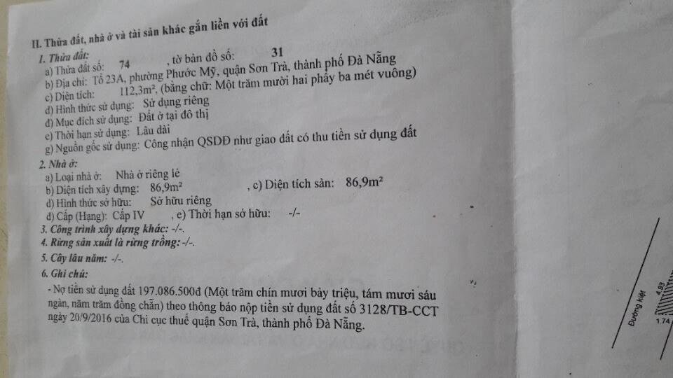 Bán Đất Kiệt Đường Nguyễn Công Trứ – Đà Nẵng | Trần Minh BĐS
