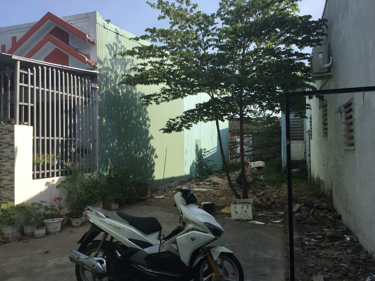hình ảnh lô đất kiệt đường Đoàn Phú Tứ