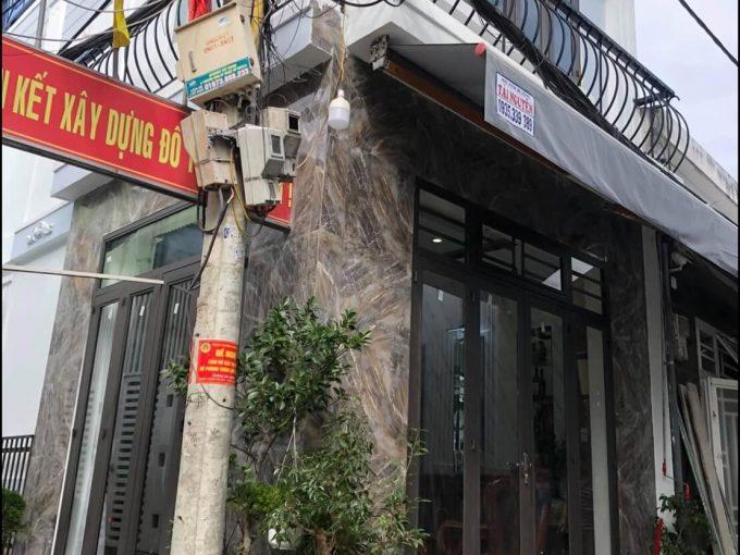 mặt ngoài nhà kiệt đường Thái Thị Bôi