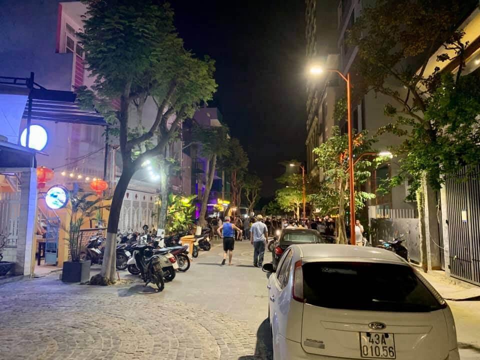 phố tây An Thượng buổi tối