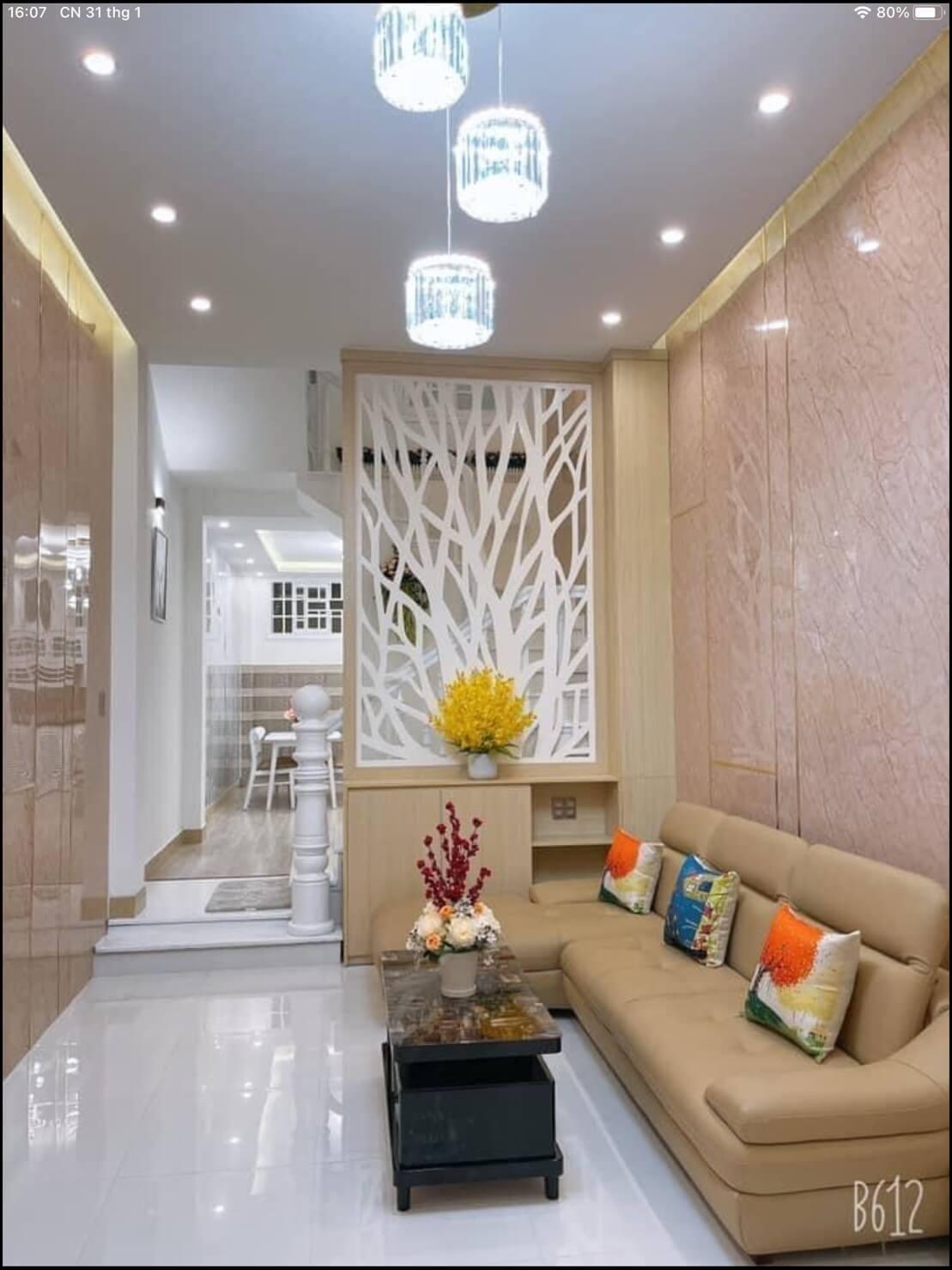 phòng khách nhà đường Hàn Mạc Tử