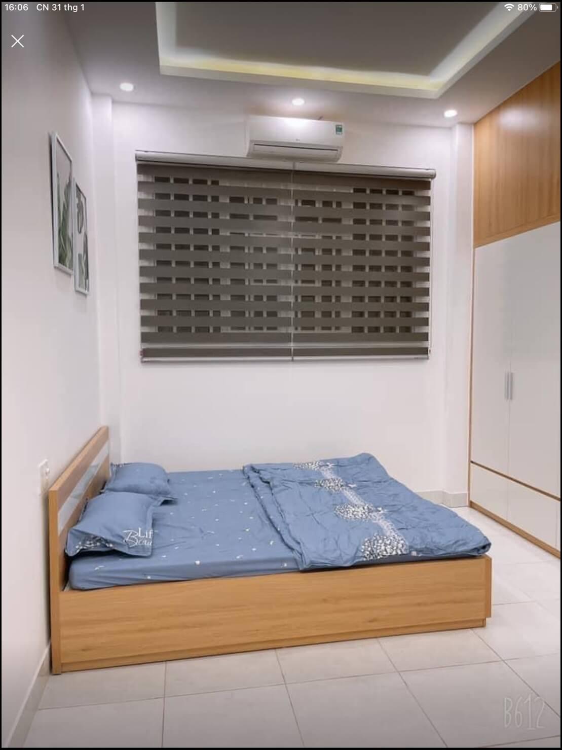 phòng ngủ nhà Hàn Mạc Tử