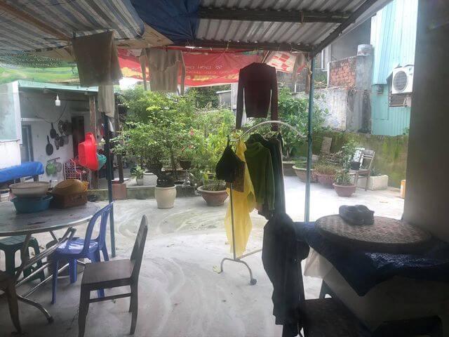 sân vườn nhà cấp 4 nhà kiệt Ngô Quyền - Sơn Trà - Đà Nẵng