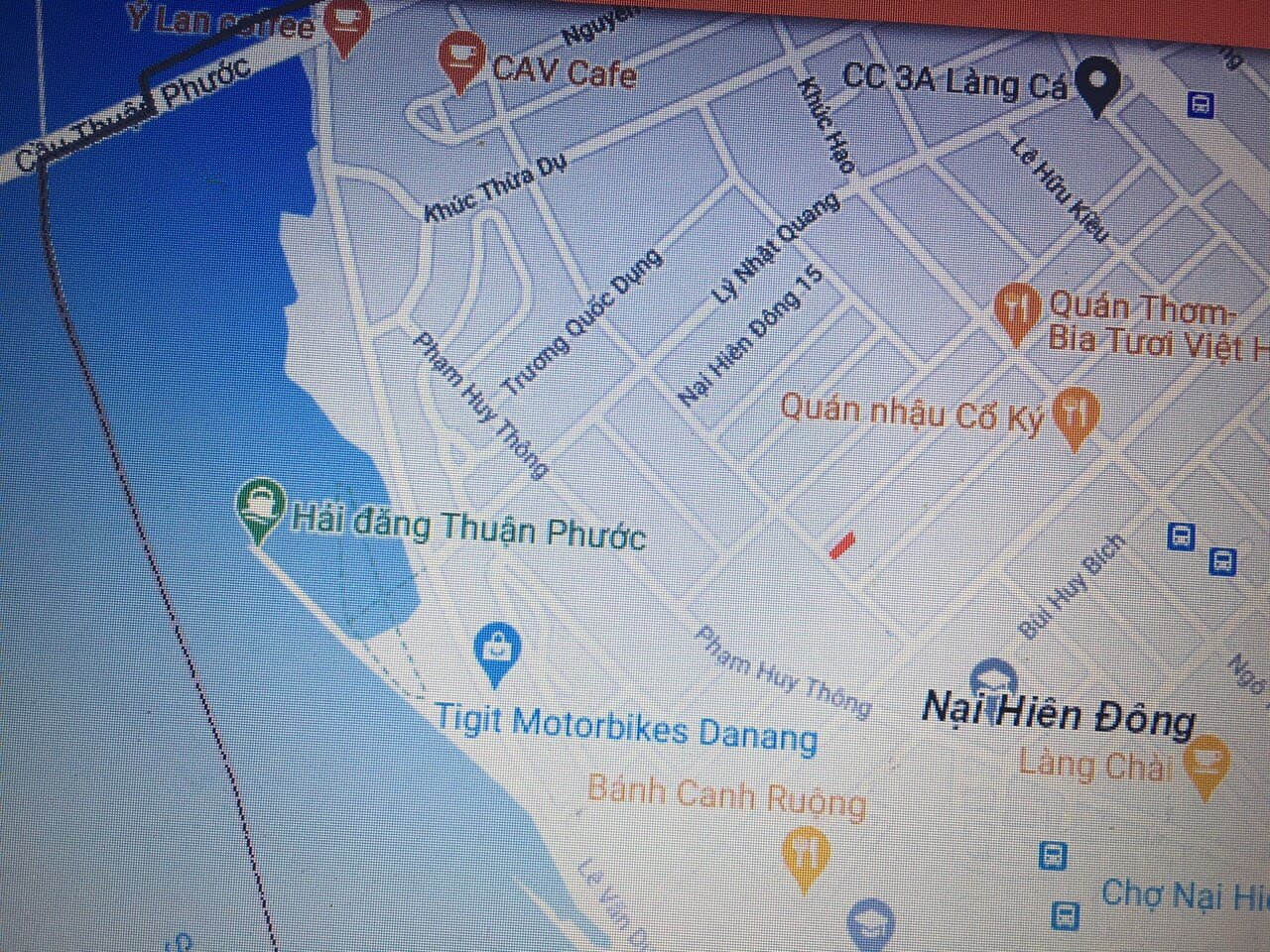 sơ đồ vị trí đất đường Dương Lâm - Đà Nẵng