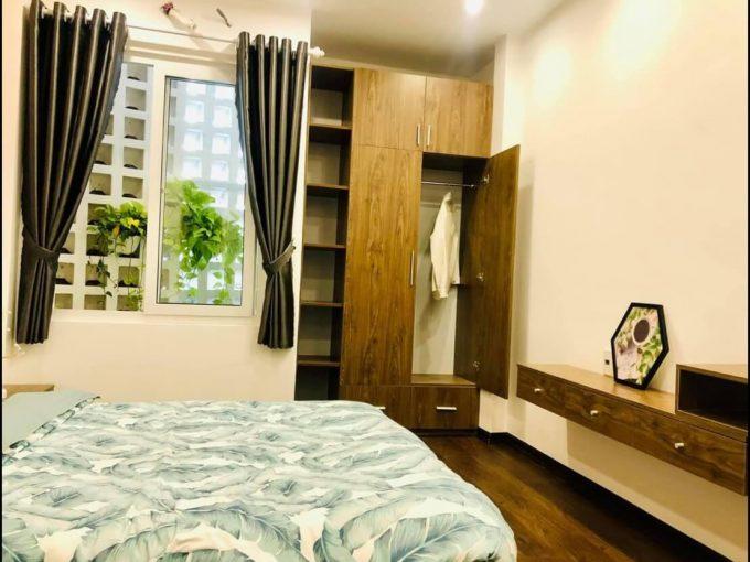 view phòng ngủ nhà kiệt Hà Huy Tập