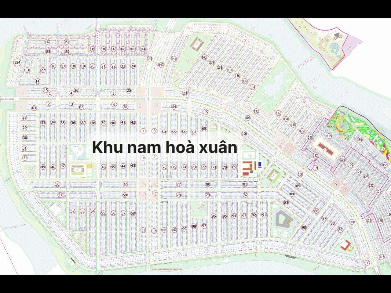 bảng giá sàn đất nền Hòa Xuân - Cẩm Lệ - Đà Nẵng