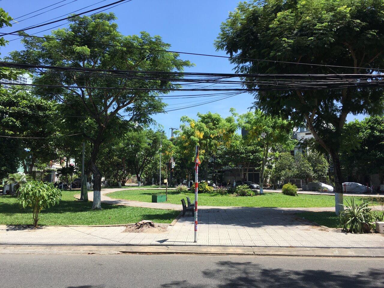 công viên gần nhà đường An Nhơn 3 - Sơn Trà - Đà Nẵng
