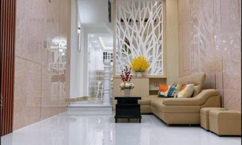 phòng khách nhà Hàn Mạc Tử