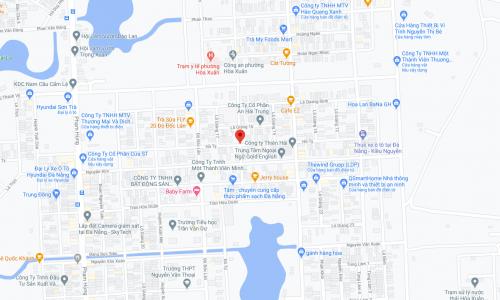 sơ đồ vị trí nhà bán đường Hồ Tỵ